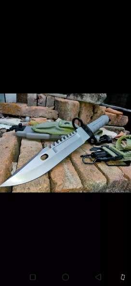Pisau sangkur TNI AD Brimob Marinir kostrad bayonet m9 m16