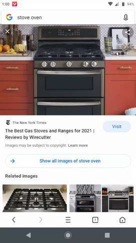 Stove reapering and stand gizer