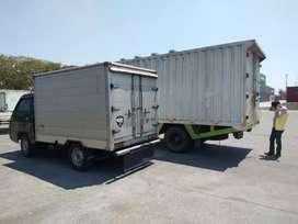 RENTAL TRUCK BOX PICKUP BOX ENGKEL BOX JASA ANGKUT PINDAHAN LOGISTIK