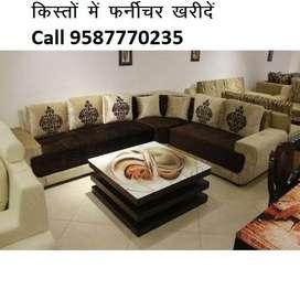 Today Big discount on Sofa set 8590, L shape sofa 14000, Lowest price