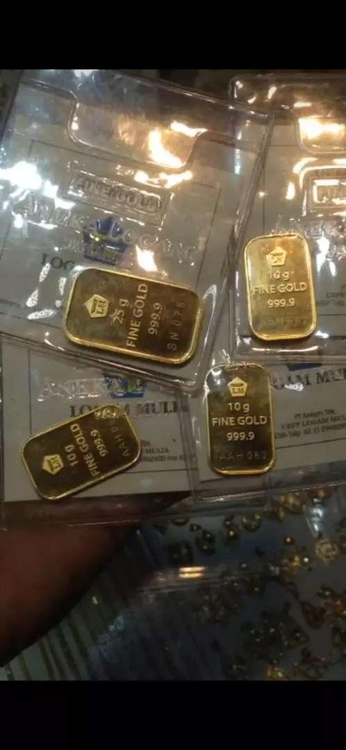 Terima jual emas dan berlian dari toko lain.tanpa surat.siap COD an