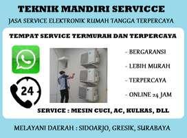 Panggilan service Ac Showcase Kulkas nge'frezeer | Mesin cuci 1tabung
