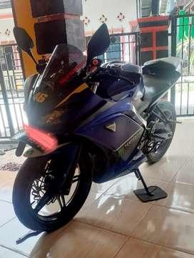 Yamaha Vixion 2014 moviestar Modif standar)