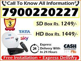 Tata Sky New DTH Connection-Tatasky Dish D2h - All India Piano