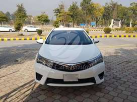 Rent Toyota Corolla New and Old Model for in Islamabad