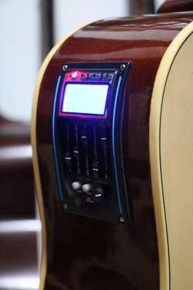 Gitar akustik elektrik baru murah berkualitas siap antar se bandung