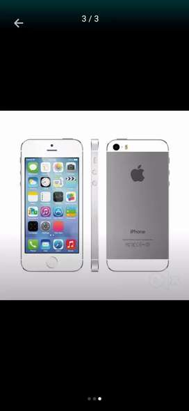 4G I phone 5s in 16gb with charger