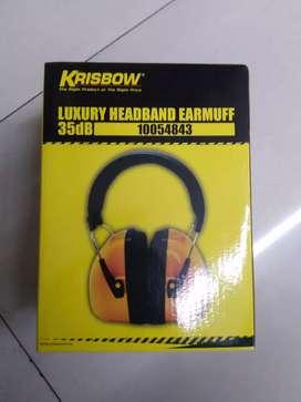 Luxury heabband earmuff 35Db krisbow