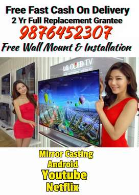 40 Smart Ultraseek Led Tv 2 Yr Full Replacement Grantee GST Bill