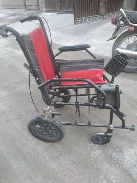 Free wheel chair for disable persons