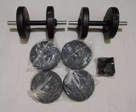 Gym Weights PVC
