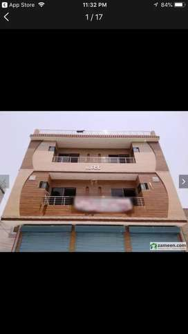 Appartment for rent at hot location at 1st floor .