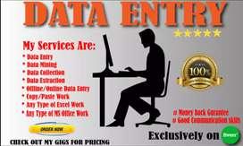 Data Entry apreter