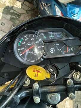 I love yamaha bike