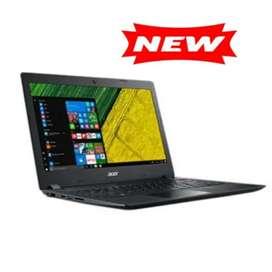 Laptop baru. Acer intel quad core N4120 RAM 4GB SSD 256GB W10 OHS