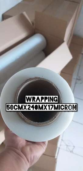 Plastik Wrapping 50 cm X 240 m