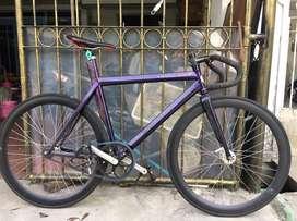 For sale fixie balap frame custom