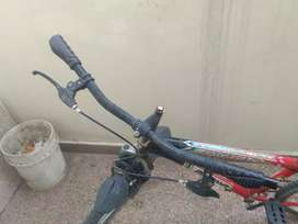 It has very good condition but it's tyre tube has been burst