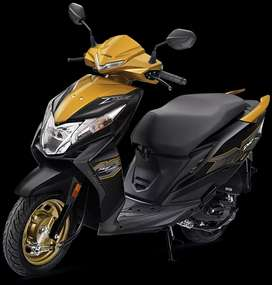HONDA DIO DLX Bs6 NEW VEHICLE PAY Rs. 2222/-