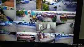 Paketan cctv + pasang merk mata spc hilook hikvision