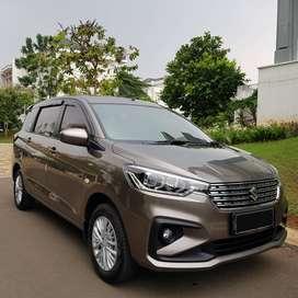 Suzuki Ertiga GL AT 2018 coklat km 13rb, like new