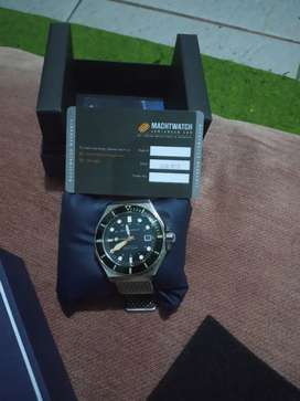 Jam automatic nh35a,saphire crystal, spinaker dumas
