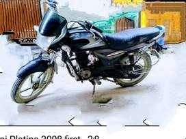 Bajaj Platina 2008 first owner