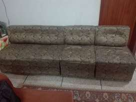 4 Seater Compact Sofa Set