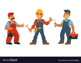 Electrician/Plumber Required for Our Office