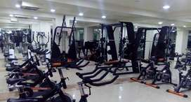 BLACK BEAUTY GYM SETUP WITH CARDIO