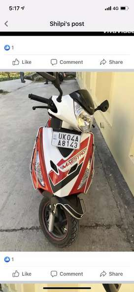 Uk number scooty
