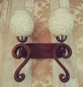 Teak wood chandelier... Exclusive item