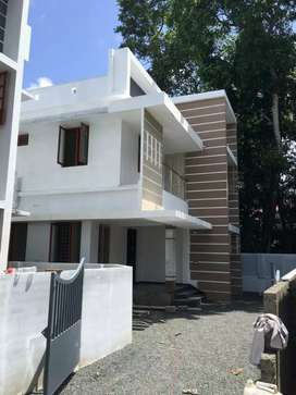 3.700 cent's 1600 sqft brand new house Rs. 63 lakhs