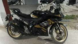 Yahama YZR 15 V2 Black and Golden Limited Edition