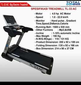 Ready treadmil listrik Tl 33 Ac
