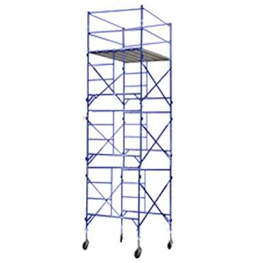 Scaffolding tower for maintenance and construction 0