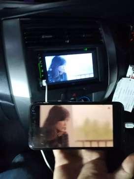 Paket tv mobil + kamera mundur belakang