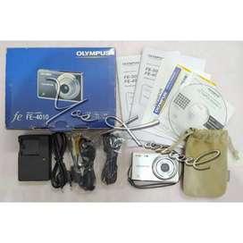 Camera Digital Olympus FE-4010 Fullset Istimewa