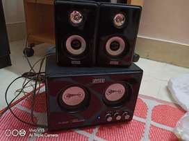 Intex 2.1 speakers for computer and tv