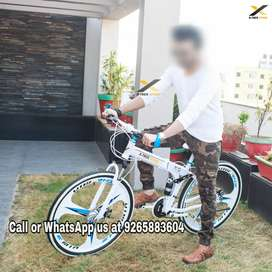 X-Trex Foldable Cycle with 21 Speed Gears: Hybrid Cycle 26T (Delhi)