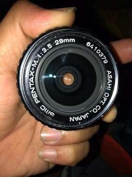 SMC PENTAX-M 28mm f 3,8