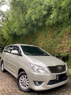 Toyota Innova V AT 2013 Istimewa