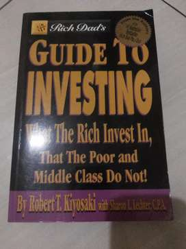 Buku import..Rich Dad's..Guide To Investing.