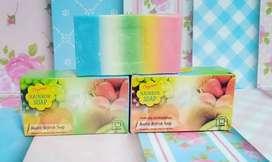Orysoap Rainbow soap adalah dabun