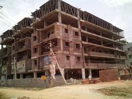 Flats available at kanuru 2 nd 3 bhk