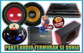 T2 SURABAYA PAKET AUDIO GROSIR MANTAP BOOM BONUS LED COSMETIK