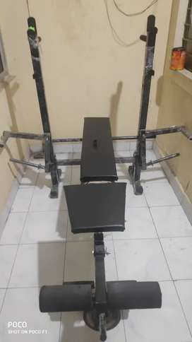 8 in one multi purpose fitness bench