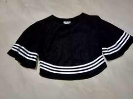 Black korean top
