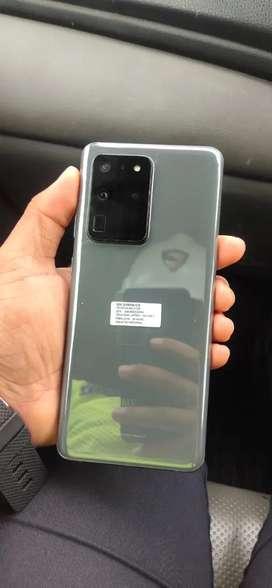 Samsung s20 ultra 12/128 sein indonesia fulset