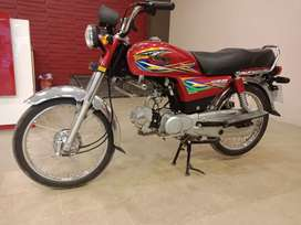 2200 km driven New bike only 4 month used 70cc